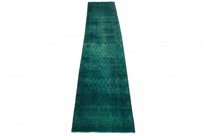 Vintage Teppich Türkis in 470x90cm 1001-3272