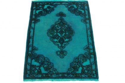 Vintage Teppich Türkis in 150x110cm