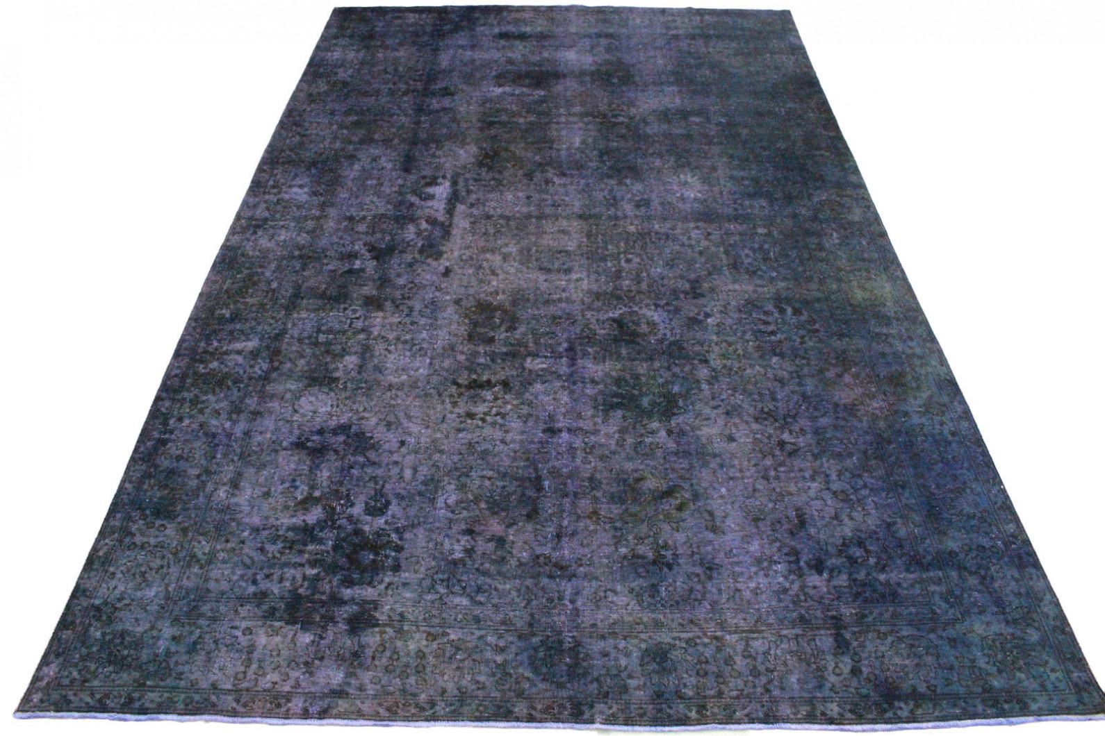 Vintage Teppich Lila Blau in 480x300cm
