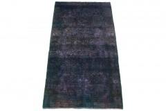 Vintage Teppich Lila Blau in 210x110cm