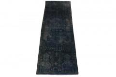 Vintage Teppich Läufer Lila in 240x80cm