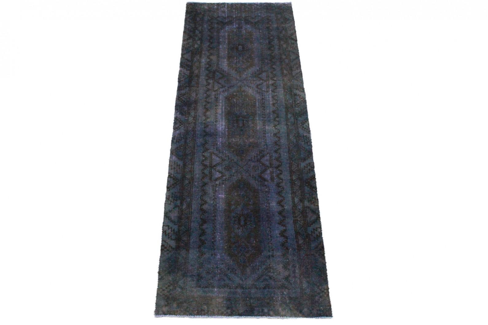Vintage Teppich Lila in 280x90cm