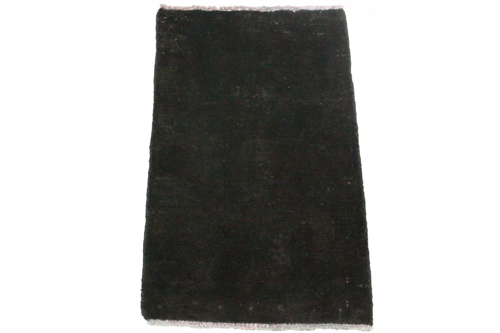 Vintage Teppich Schwarz in 80x50cm (1 / 6)
