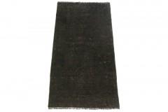 Vintage Teppich Schwarz in 150x80cm