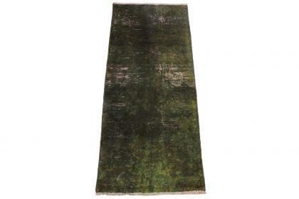 Vintage Teppich Oliv in 160x70cm 1001-3310