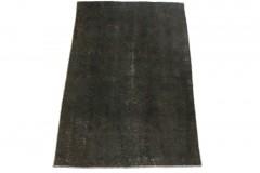Vintage Teppich Schwarz in 140x90cm