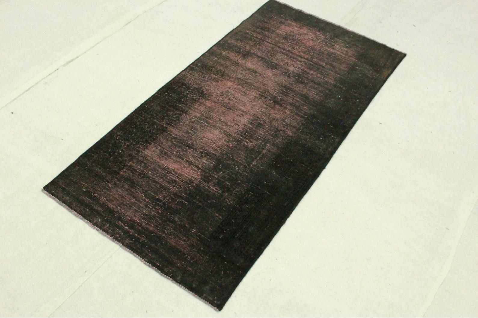 vintage teppich schwarz rosa in 180x90cm 1001 3313 bei kaufen. Black Bedroom Furniture Sets. Home Design Ideas