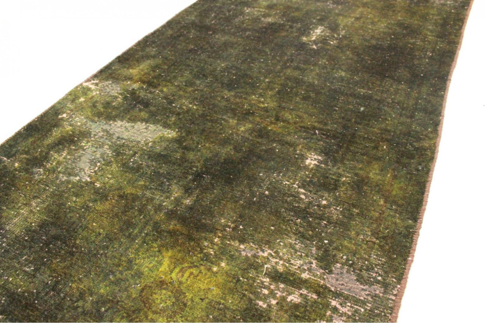 ... Vintage Teppich Grün Schwarz In 170x80cm (3/5) ...