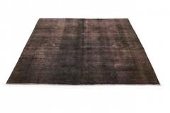 Vintage Teppich Schwarz Rosa in 310x290cm