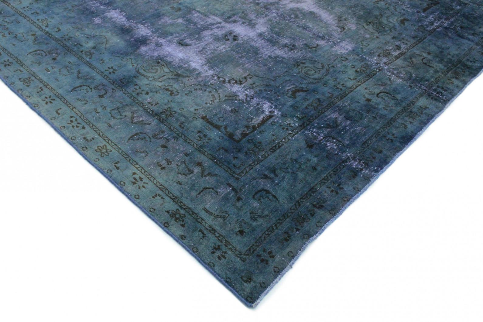 vintage teppich blau lila in 380x290 1001 3324 bei kaufen. Black Bedroom Furniture Sets. Home Design Ideas