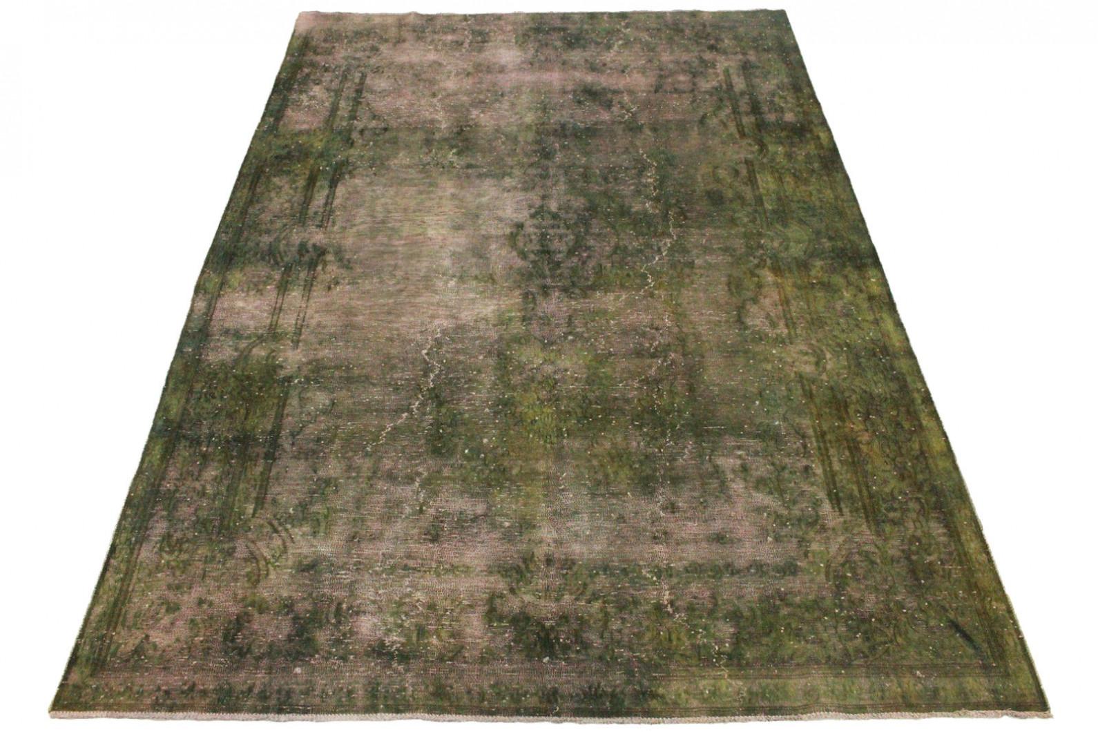 vintage teppich rosa oliv in 290x190cm 1001 3328 bei. Black Bedroom Furniture Sets. Home Design Ideas