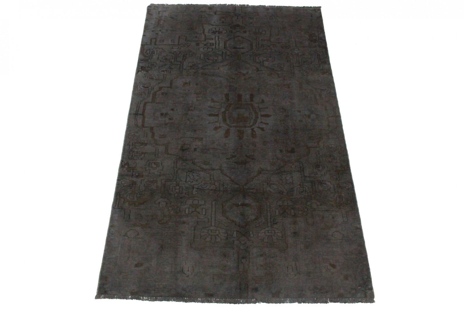 Vintage Teppich Schwarz in 250x150cm (1 / 4)