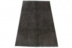 Vintage Teppich Schwarz in 250x150cm