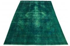 Vintage Teppich Türkis in 400x280cm