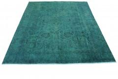 Vintage Teppich Türkis in 380x280