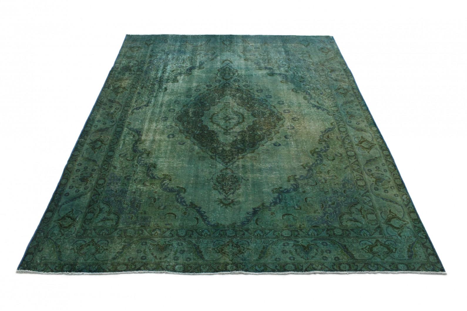 Vintage Teppich Grün in 380x280cm (1 / 4)