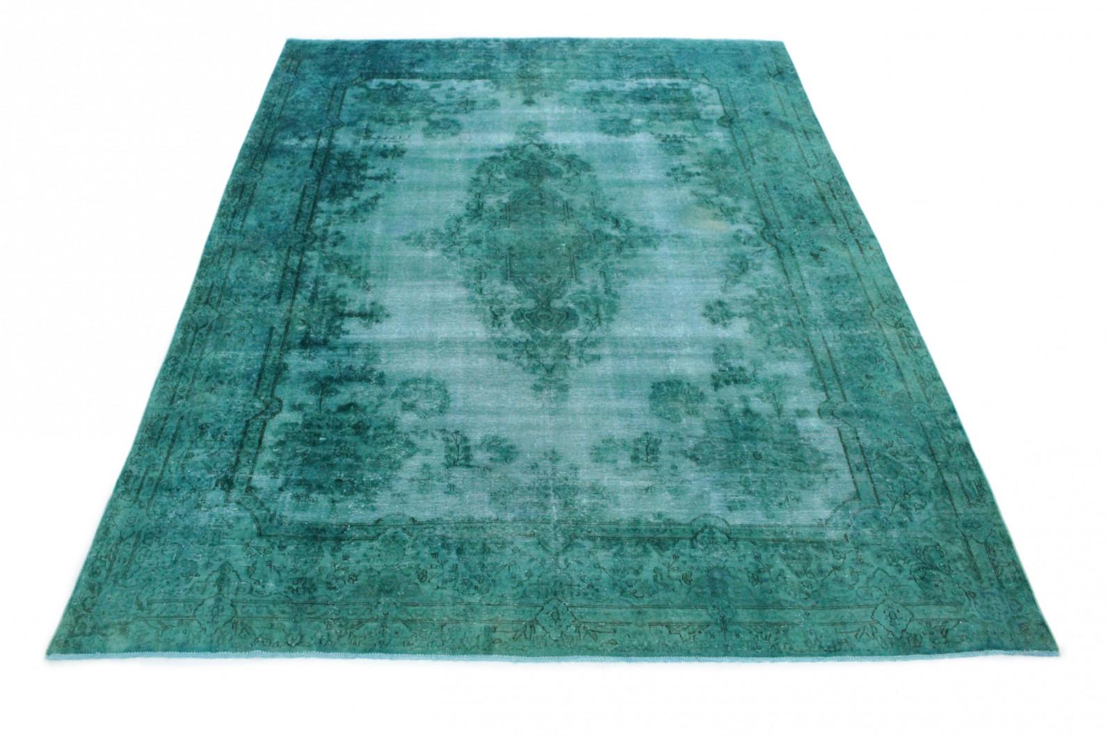 vintage teppich t rkis in 410x300cm 1001 3353 bei kaufen. Black Bedroom Furniture Sets. Home Design Ideas