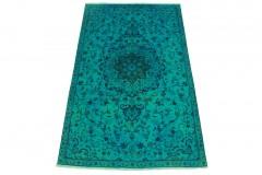 Vintage Teppich Türkis in 240x140cm