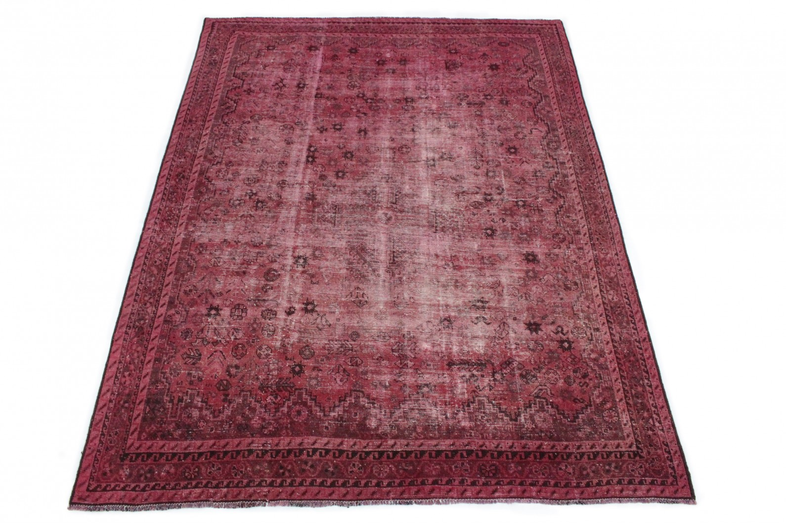 Vintage Teppich Rot in 280x200 (1 / 4)
