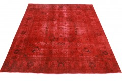 Vintage Teppich Rot in 340x290cm
