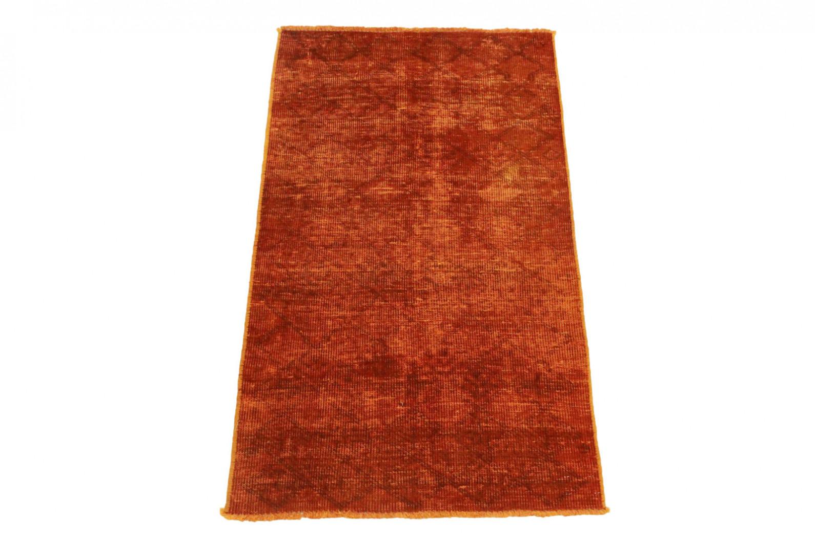 vintage teppich orange rost in 220x140cm 1002 3381 bei kaufen. Black Bedroom Furniture Sets. Home Design Ideas