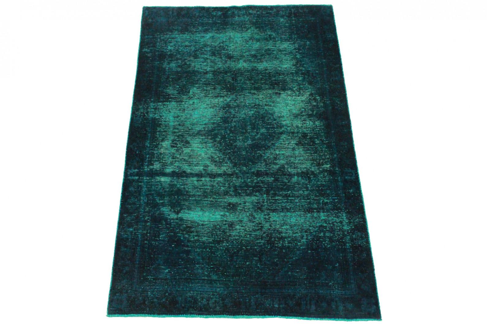 vintage teppich blau t rkis in 200x120cm 1001 3400 bei kaufen. Black Bedroom Furniture Sets. Home Design Ideas