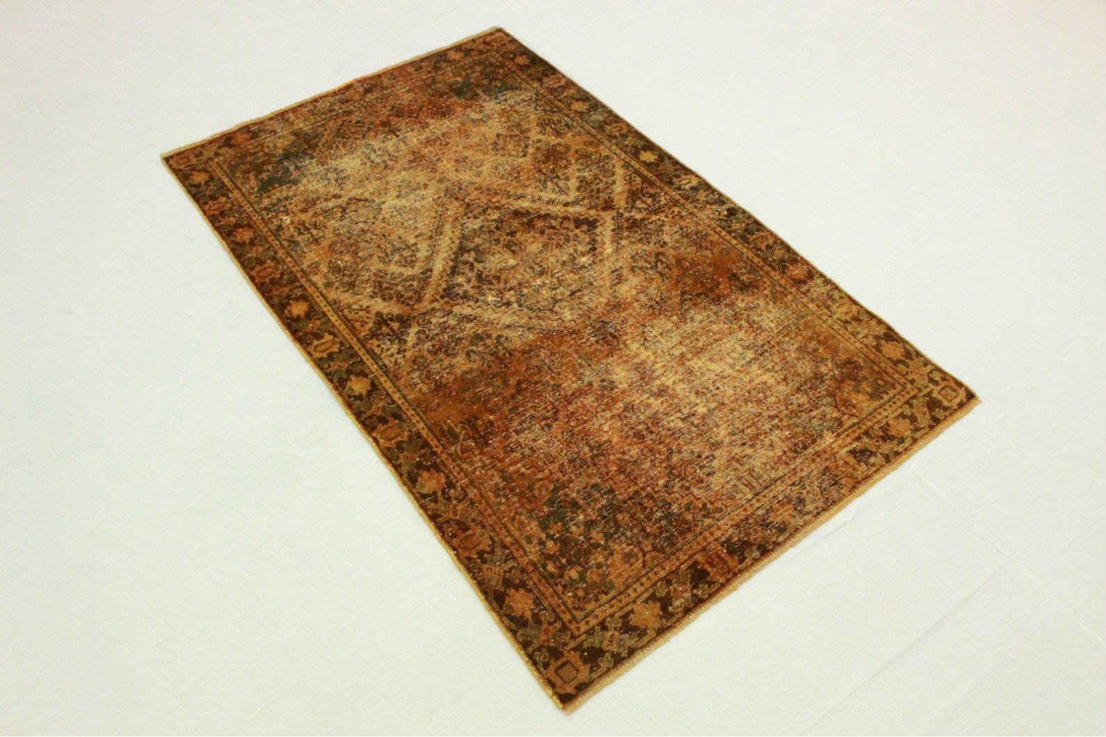 Vintage teppich orange braun in cm bei