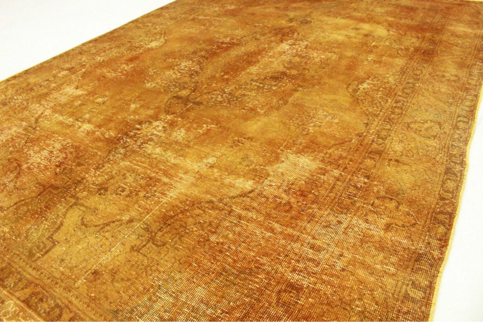 Vintage Teppich Curry In 290x190cm 1001 3431 Bei Carpetido De Kaufen