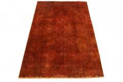 Vintage Rug Orange Rust in 290x190cm
