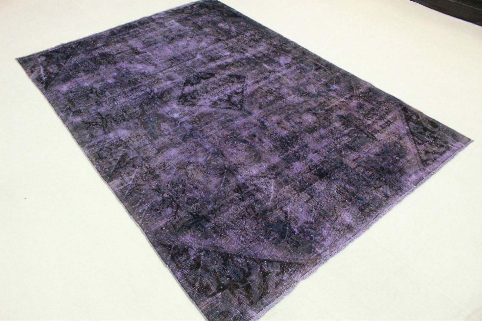vintage teppich lila in 310x210cm 1001 3442 bei kaufen. Black Bedroom Furniture Sets. Home Design Ideas