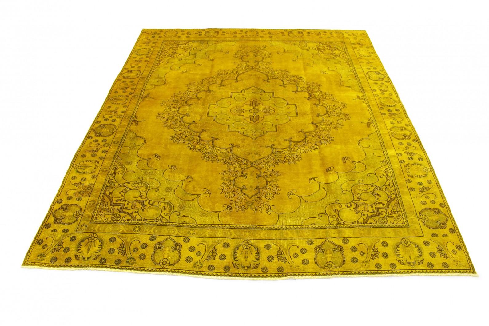 Vintage Teppich Senf in 360x280 (1 / 6)