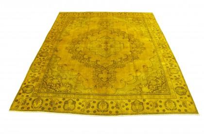 Vintage Teppich Senf in 360x280
