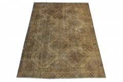 Vintage Teppich Schlamm in 270x190cm