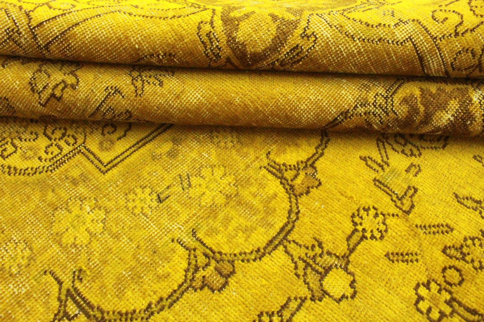 vintage teppich gelb in 320x220 1001 3490 bei kaufen. Black Bedroom Furniture Sets. Home Design Ideas