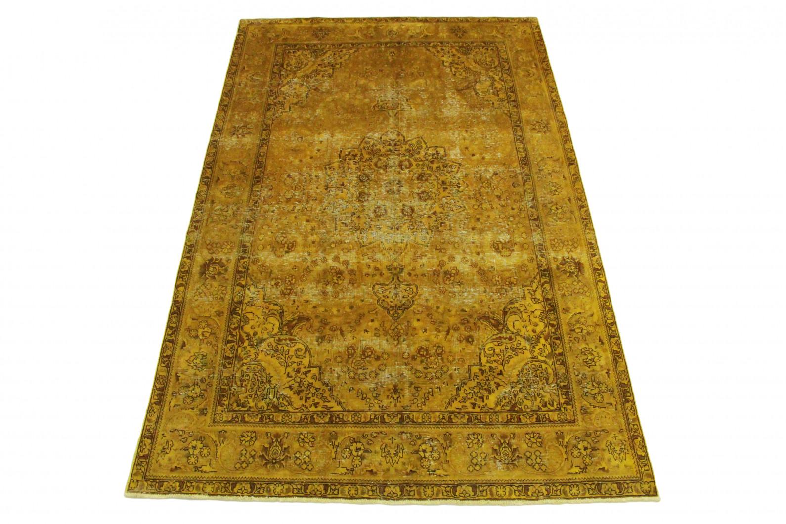 vintage teppich gold gelb in 310x200 1001 3493 bei. Black Bedroom Furniture Sets. Home Design Ideas