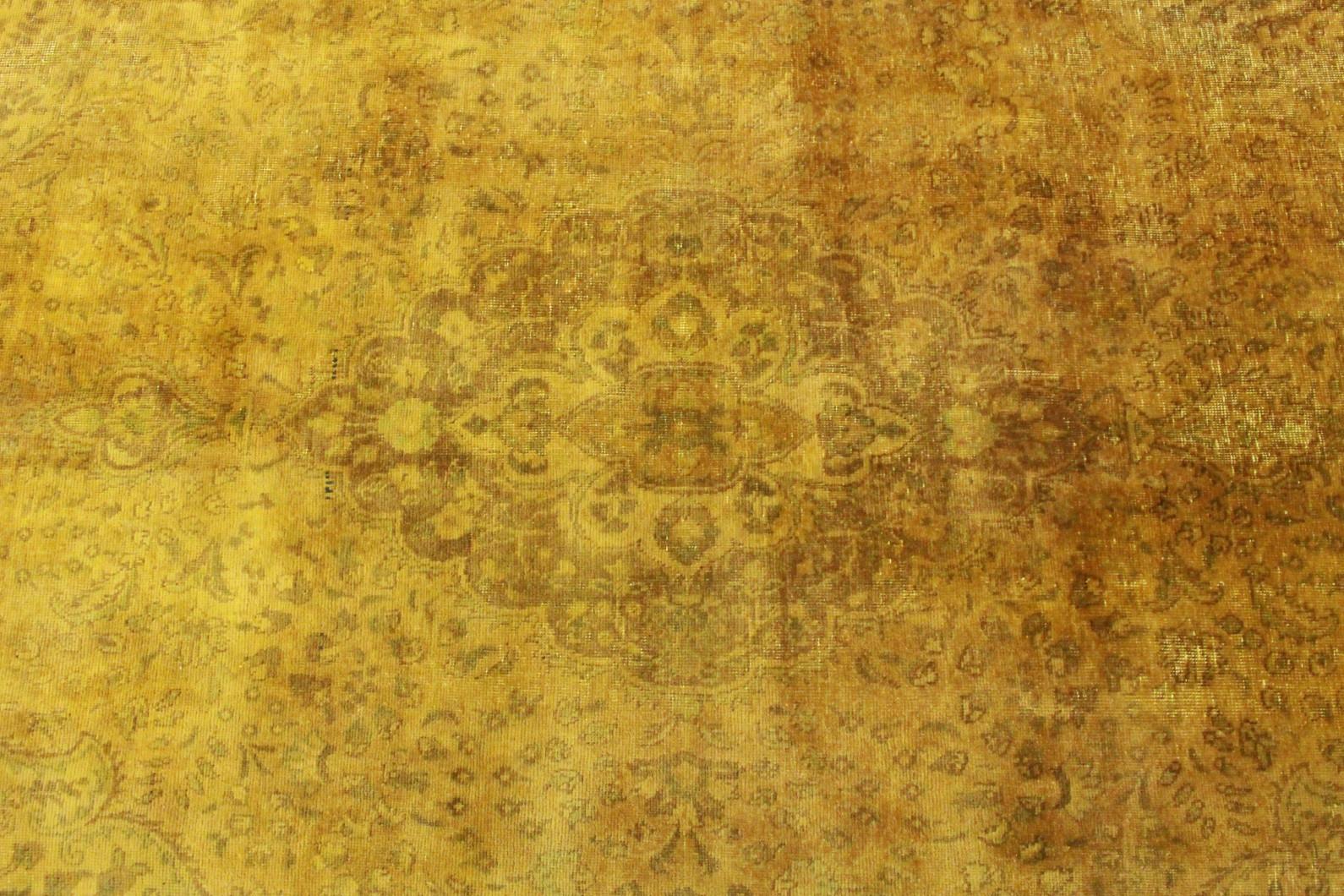 vintage teppich gold gelb in 240x120 1001 3495 bei. Black Bedroom Furniture Sets. Home Design Ideas