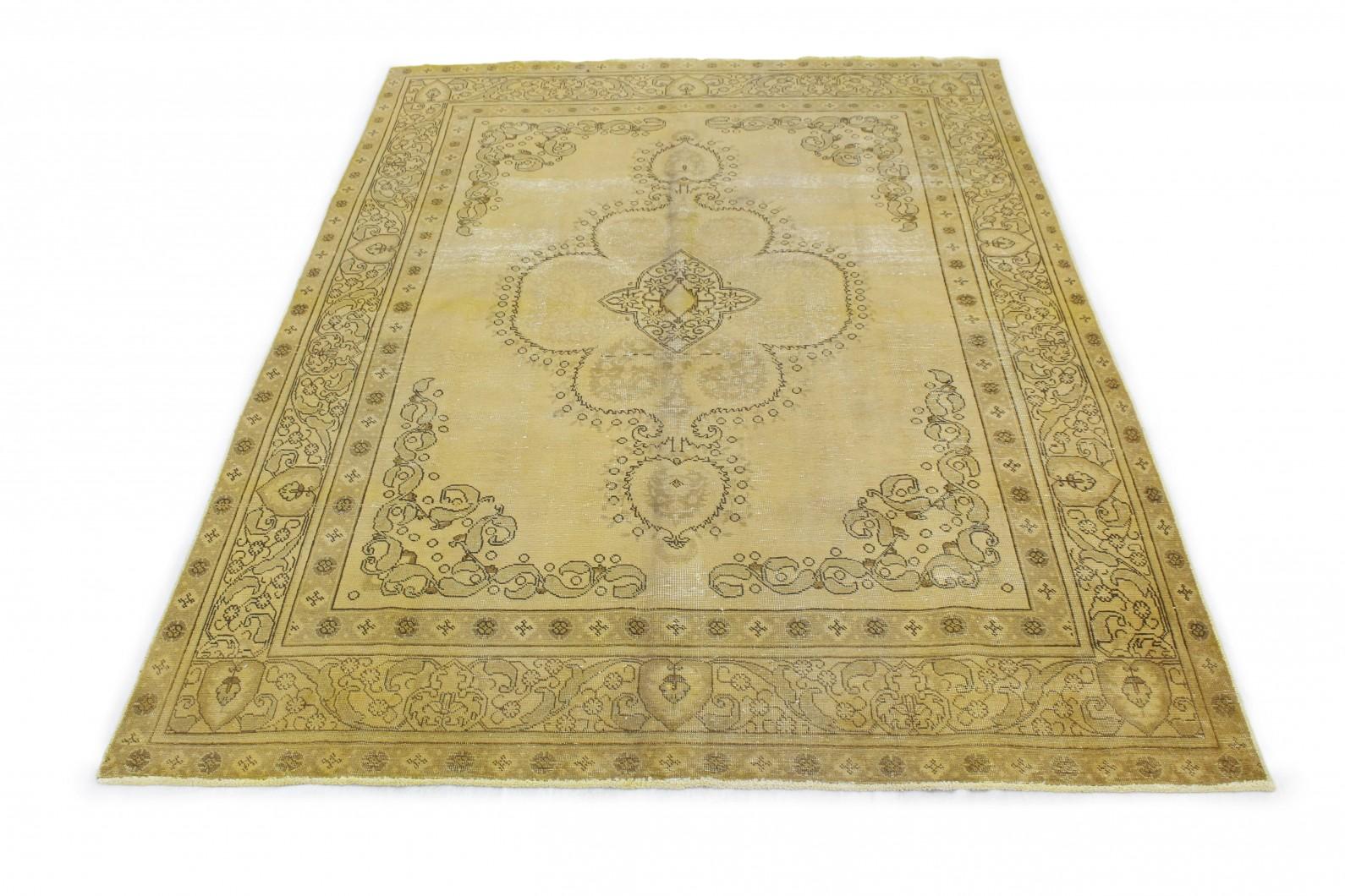 Vintage Teppich Gelb Gold in 350x240 (1 / 4)