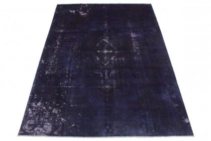 Vintage Teppich Lila Blau in 310x230
