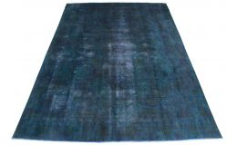 Vintage Rug Blue Turquoise in 390x280