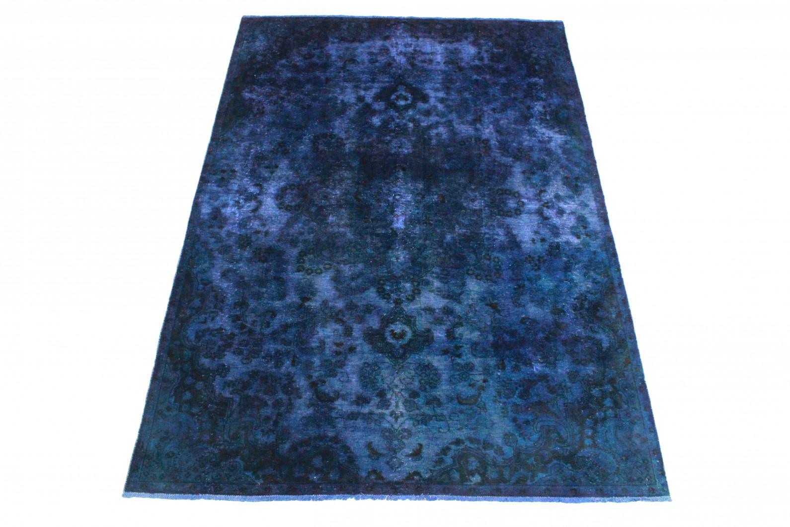 vintage teppich blau lila in 290x200 1001 3501 bei. Black Bedroom Furniture Sets. Home Design Ideas