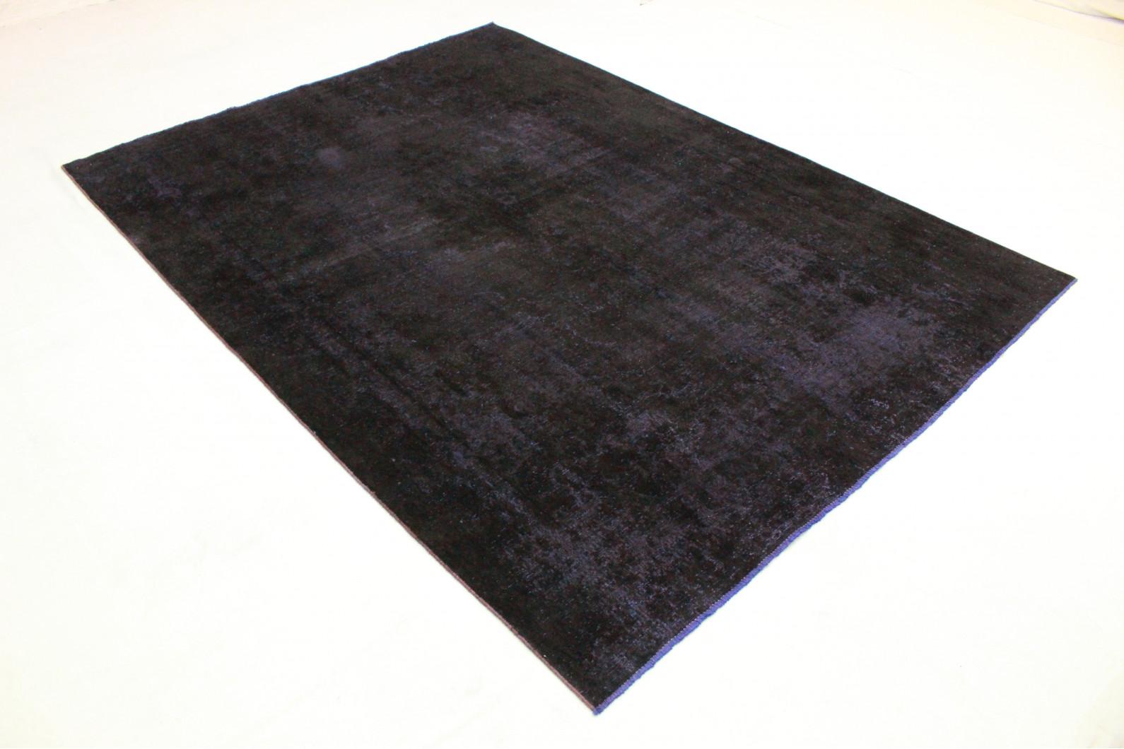 Teppich schwarz  Vintage Teppich Schwarz Lila in 330x240 (1001-3505) bei carpetido ...