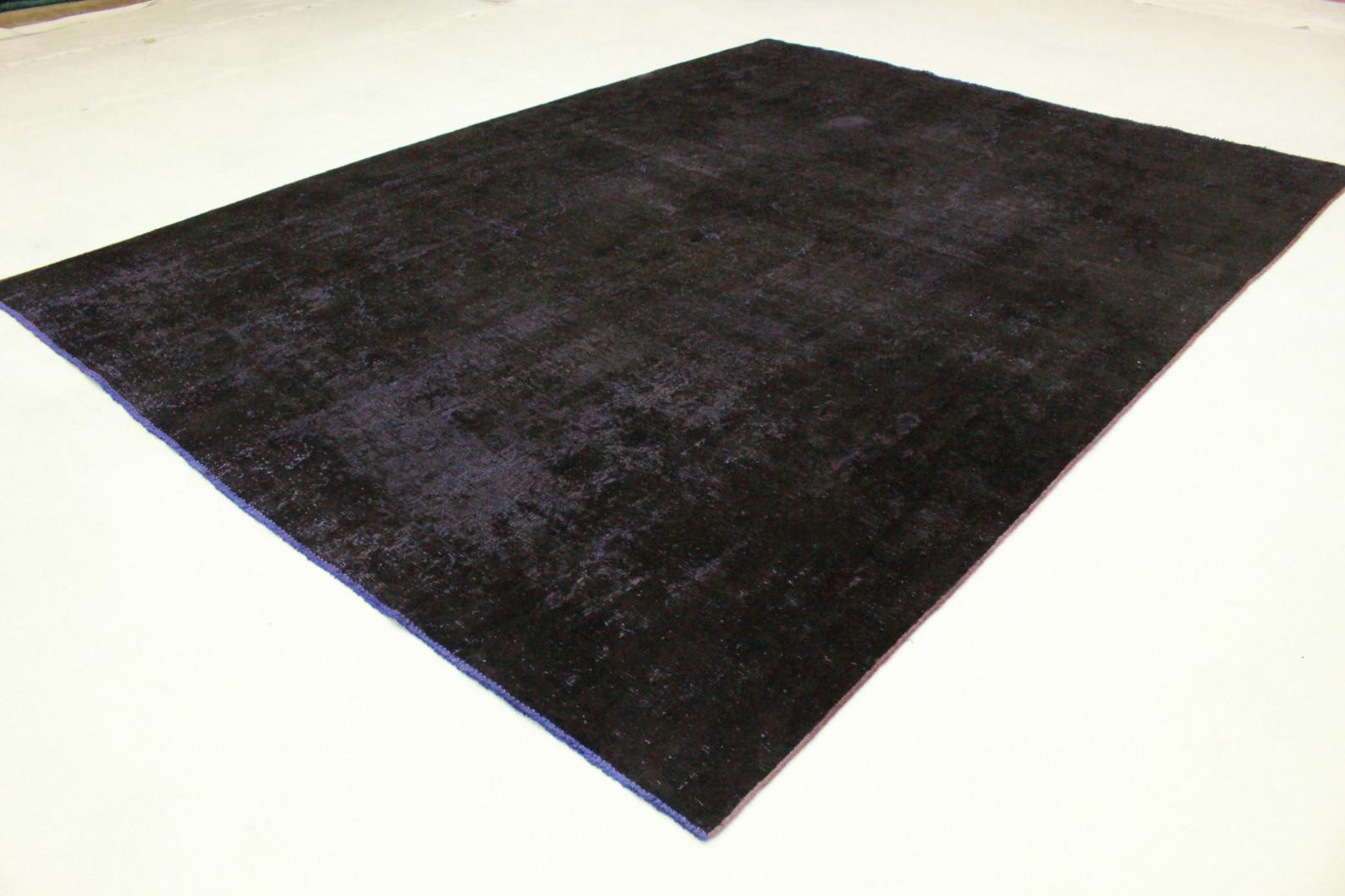 vintage teppich schwarz lila in 330x240 1001 3505 bei kaufen. Black Bedroom Furniture Sets. Home Design Ideas