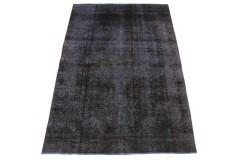 Vintage Teppich Blau Lila in 270x190