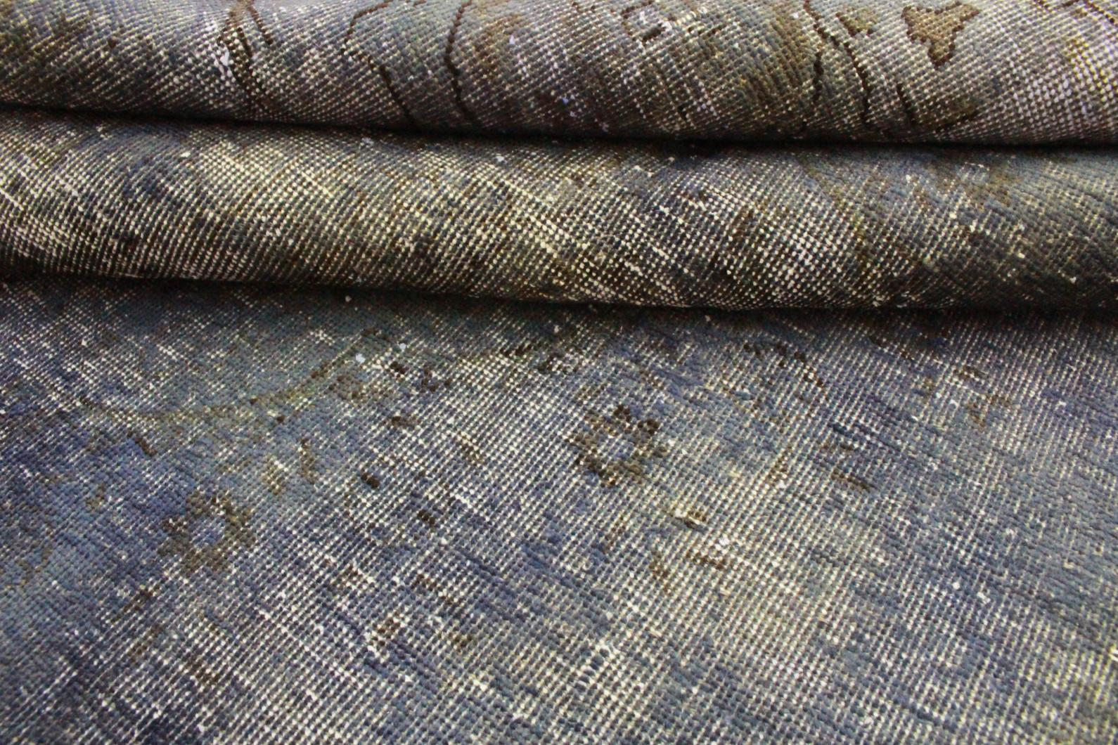 vintage teppich blau grau in 250x170 1001 3513 bei kaufen. Black Bedroom Furniture Sets. Home Design Ideas