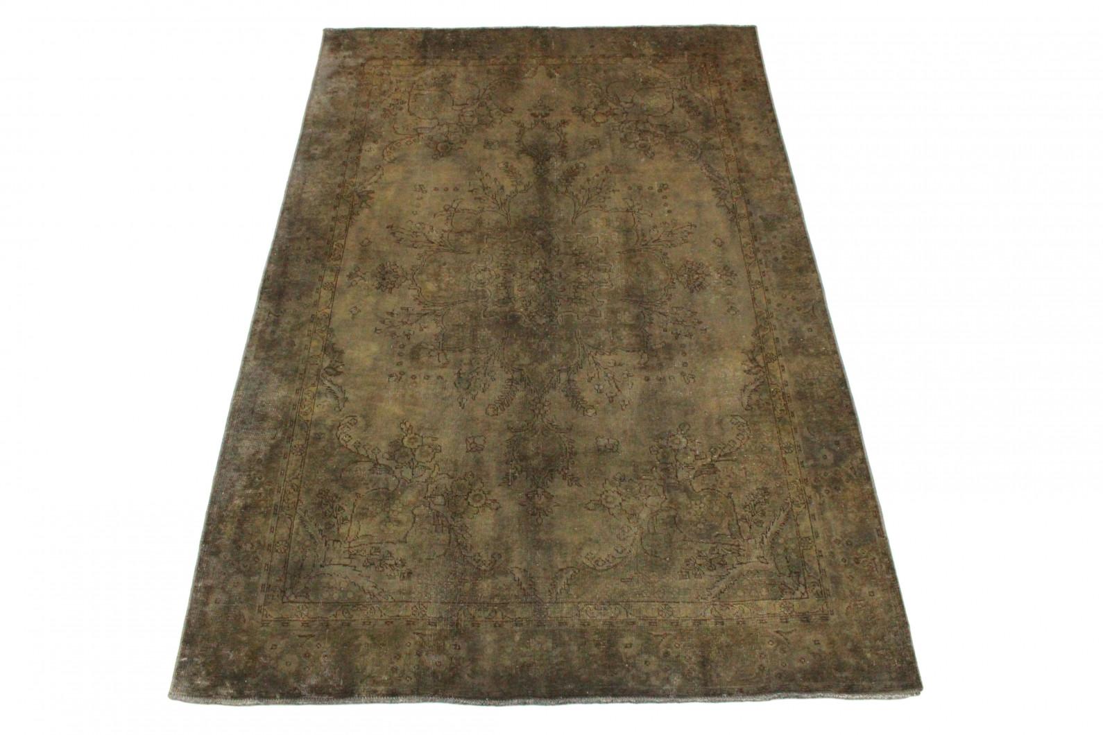 vintage teppich grau schlamm in 290x190 1001 3520 bei. Black Bedroom Furniture Sets. Home Design Ideas