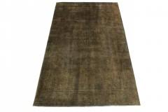 Vintage Teppich Grau Schlamm in 310x190