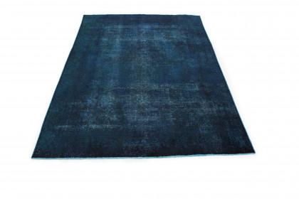 Vintage Teppich Blau in 360x240