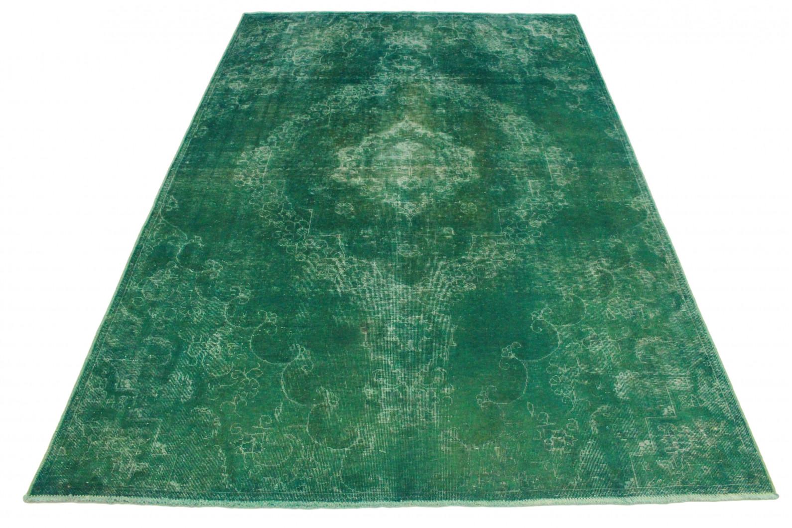 vintage teppich gr n t rkis in 300x200 1001 3539 bei kaufen. Black Bedroom Furniture Sets. Home Design Ideas
