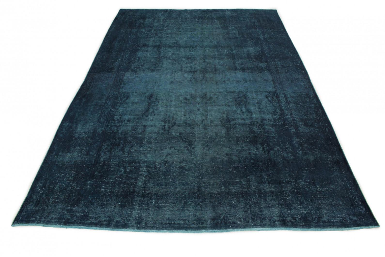 Vintage Teppich Blau in 440x290