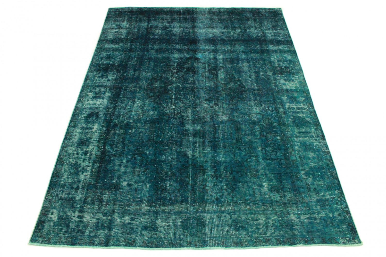 Vintage Teppich Blau in 340x240